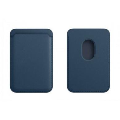 Cartera con MagSafe para iPhone 12 / 12 Pro / 12 Pro Max / 12 Mini Azul Báltico